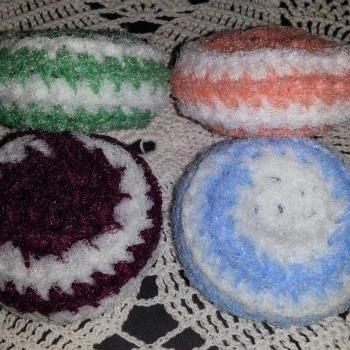 Nylon Scrubbies (Set of 4)
